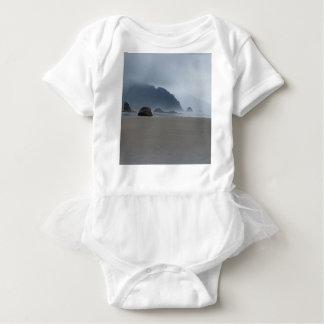 Body Para Bebê Costa de Oregon do ponto do abraço em um dia