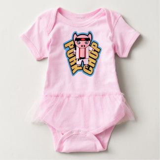 Body Para Bebê Costeleta de carne de porco