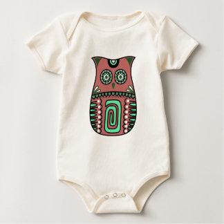 Body Para Bebê Costume boémio do pássaro de Boho da coruja