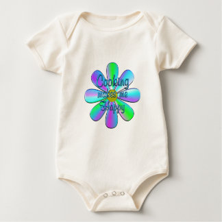 Body Para Bebê Cozimento feliz