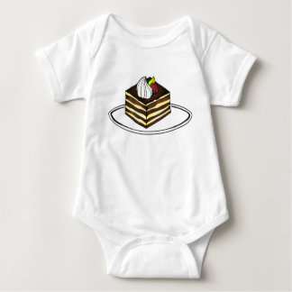 Body Para Bebê Cozimento italiano da sobremesa de Foodie da
