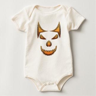Body Para Bebê Crânio