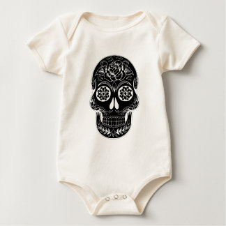 Body Para Bebê Crânio abstrato