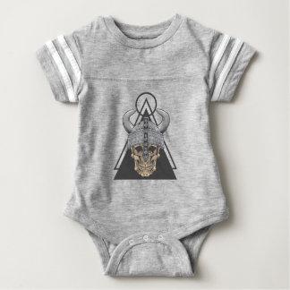 Body Para Bebê Crânio de Viking
