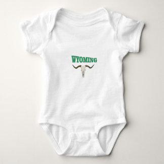 Body Para Bebê Crânio de Wyoming
