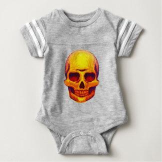 Body Para Bebê Crânio do esboço