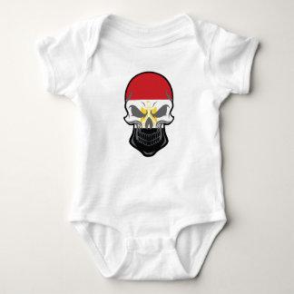 Body Para Bebê Crânio egípcio da bandeira