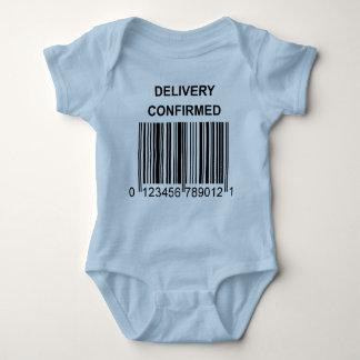 Body Para Bebê Creeper confirmado entrega