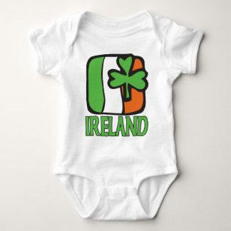 Body Para Bebê Creeper da criança de Ireland