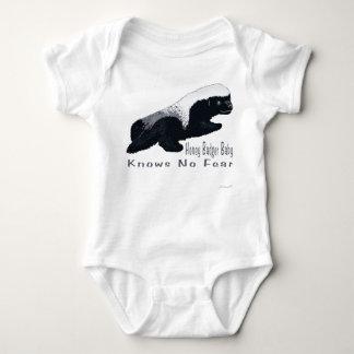 Body Para Bebê Creeper da criança do bebê do texugo de mel