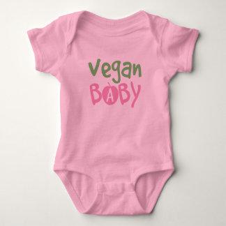 Body Para Bebê Creeper da criança do bebé do Vegan