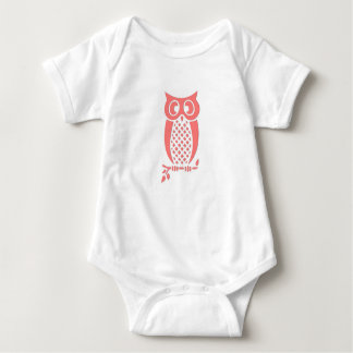 Body Para Bebê Creeper do bebê da coruja