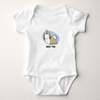 Body Para Bebê Creeper do bebê de Shih Tzu