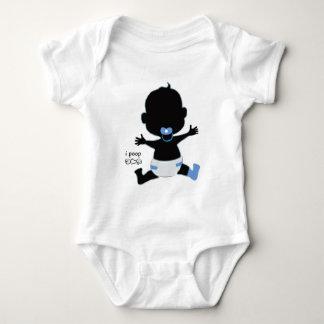 Body Para Bebê creeper do bebê do ipoop - coma o amor pray