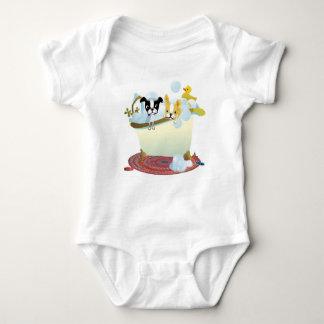 Body Para Bebê Creeper do divertimento de Bathtime do mirabelle
