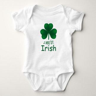 Body Para Bebê Creeper infantil irlandês do bocado pequenino do