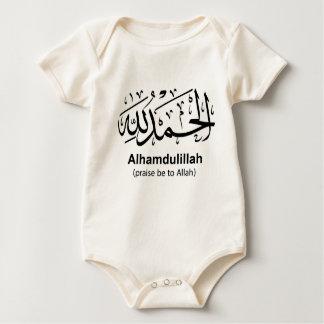 Body Para Bebê Creeper orgânico infantil de Alhamdulillah