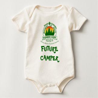 Body Para Bebê Creeper orgânico infantil de MDSC