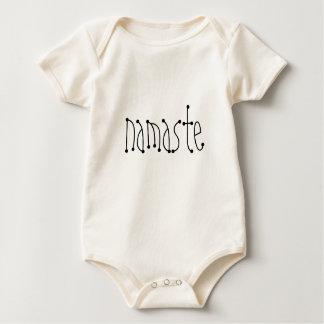 Body Para Bebê Creeper orgânico infantil do namaste 6 meses