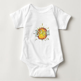 Body Para Bebê Crescimento da explosão dos desenhos animados