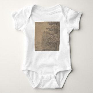 Body Para Bebê Criação da paisagem do Jesus Cristo