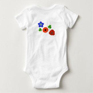 Body Para Bebê Criança de flor