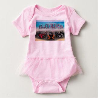 Body Para Bebê Criança de Slingin da praia