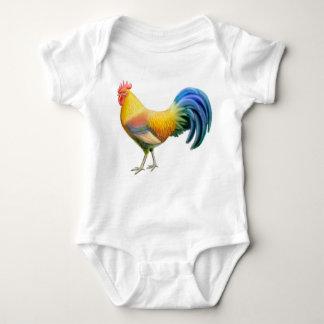 Body Para Bebê Criança do galo de Ardenner uma parte