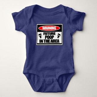 Body Para Bebê Crianças um tombadilho futuro da parte na área