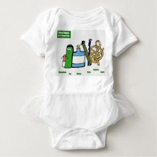 Body Para Bebê Crianças unidas do Leotard & do tutu do bebê de