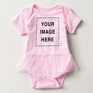 Body Para Bebê Criar seu próprio Romper bonito do bebé do tutu