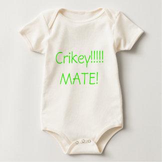 Body Para Bebê Crikey!!!!! COMPANHEIRO!