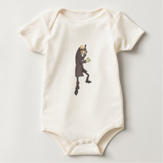 Body Para Bebê Criminoso perigoso do assassino profissional