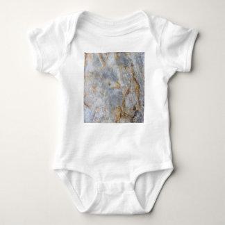 Body Para Bebê Cristal de quartzo cinzento clássico