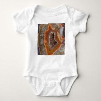Body Para Bebê Cristal de quartzo da terra Druzy