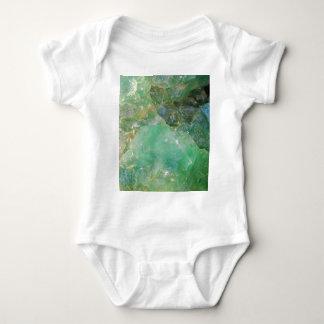 Body Para Bebê Cristal de quartzo verde do absinto