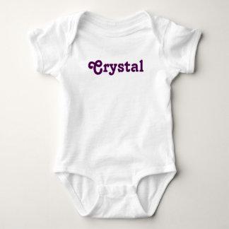 Body Para Bebê Cristal do bebê da roupa