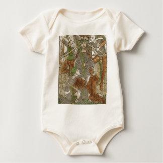 Body Para Bebê Cristo coroado com espinhos