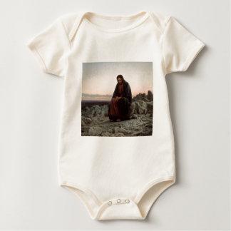Body Para Bebê Cristo de Ivan Kramskoy- nas belas artes da região