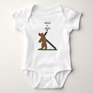 Body Para Bebê Cruz a carregar (criança)