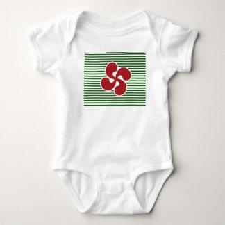 Body Para Bebê Cruz Basca Marinheira