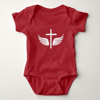 Body Para Bebê Cruz cristã