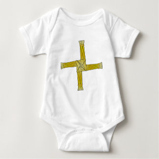Body Para Bebê Cruz do St. Brigid