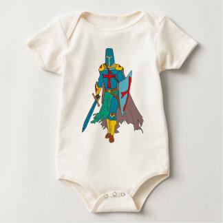 Body Para Bebê Cruzado