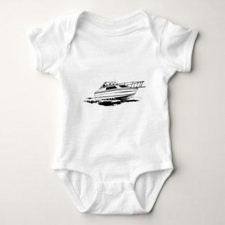 Body Para Bebê Cruzador do barco da velocidade