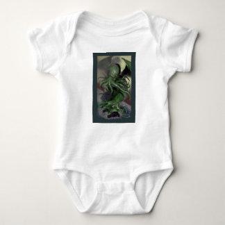 Body Para Bebê Cthulhu cavalo-força de aumentação Lovecraft