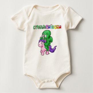 Body Para Bebê CthulhUnicorn - Jogos de Palavras - François