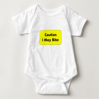 Body Para Bebê Cuidado que eu posso morder! Onsie