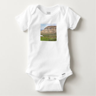 Body Para Bebê Cultivando o país e as colinas, Utá do sul