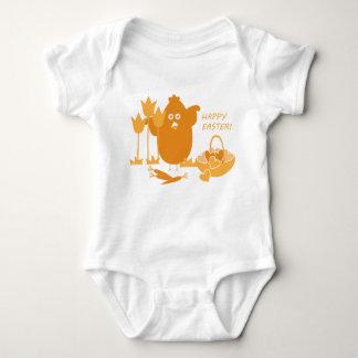 Body Para Bebê Cumprimento da páscoa